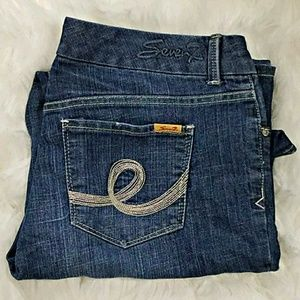 Seven LUXE bootcut jeans plus size 16